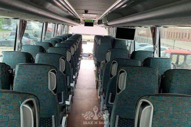 Аренда автобуса Yutong на 50 мест (white)