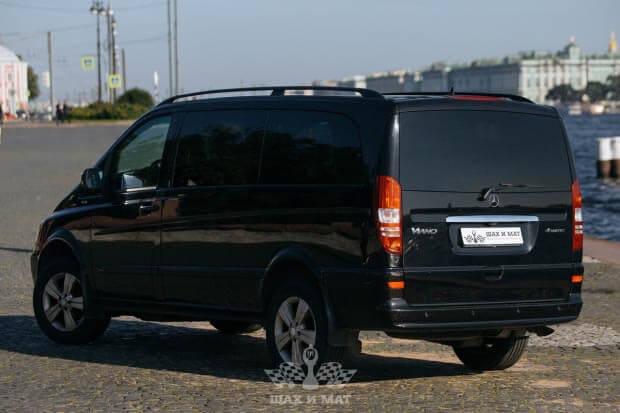 Прокат Mercedes Viano #1