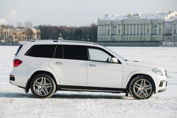 Прокат Mercedes GL-класс