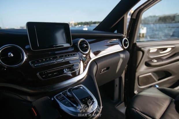 Прокат Mercedes V-class (NEW)