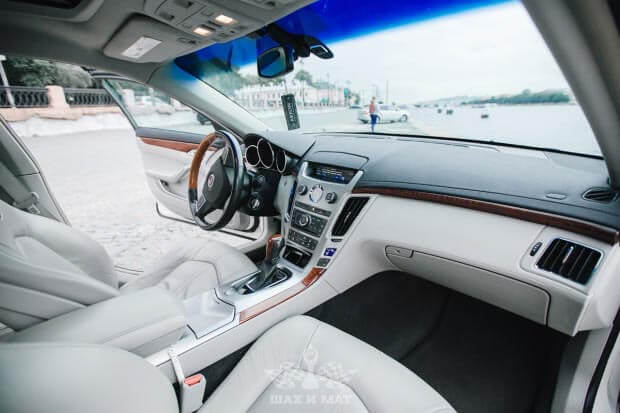 Прокат Cadillac CTS