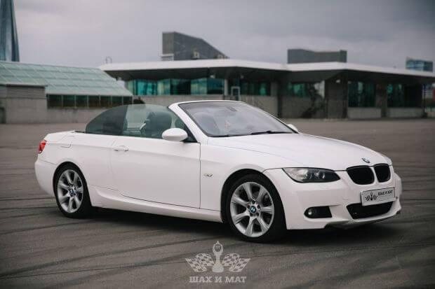 Аренда BMW 3 (E90) cabrio