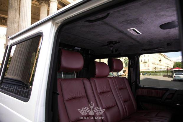 Аренда Mercedes G500 Brabus (white)