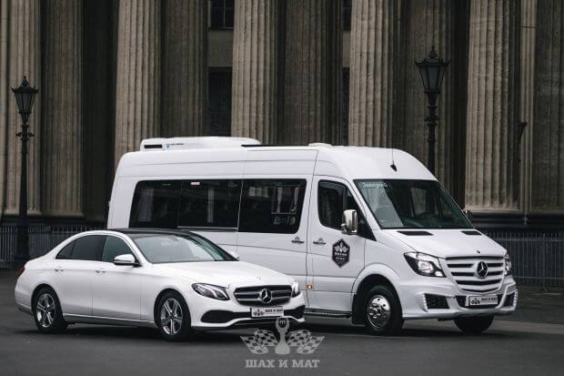 Прокат Mercedes Sprinter VIP (white)