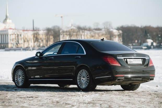 Mercedes S-класс 222
