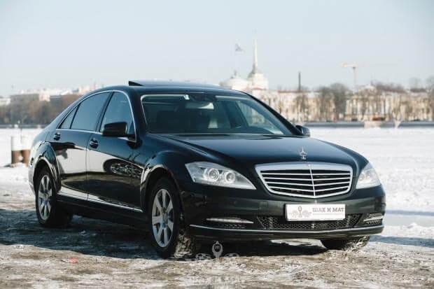 Прокат Mercedes 221
