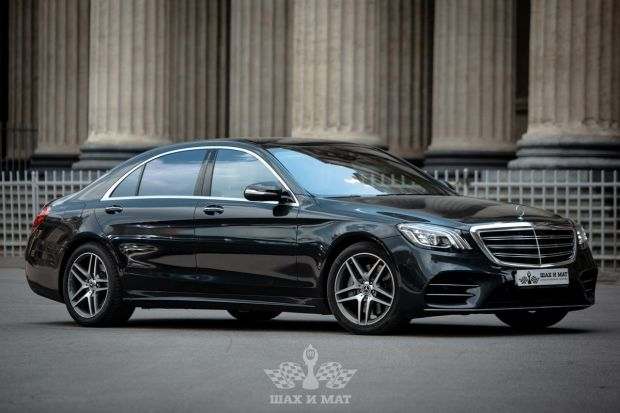 Аренда Mercedes S-класс W222 (restyle)