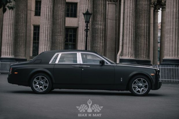 Аренда Rolls-Royce Phantom