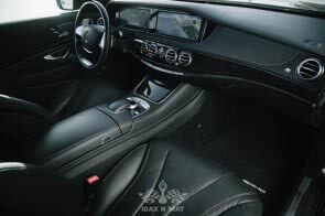 Прокат Mercedes S-класс 222 (черный)
