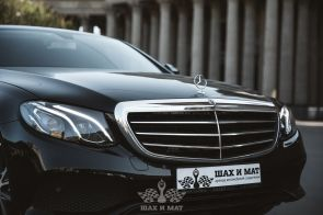 Аренда Mercedes E-class W213 (black)
