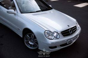 Аренда Mercedes CLK cabrio