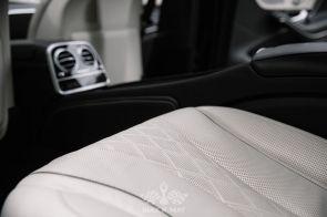 Аренда Mercedes Maybach S560 NEW (black, светлый салон)